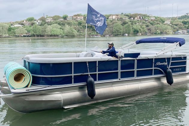 lake austin pontoon rental
